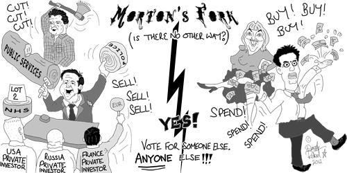 Morton's Fork (c) 2012 Dazzle Rebel