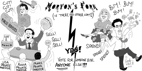 Morton's Fork (c) 2012 Dazzle Rebel