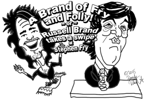 2015 02 04 A Brand of Fry Russell Brand verses Stephen Fry